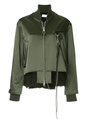 Song For The Mute long-sleeved jacket - Green