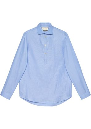 Gucci Cotton oversize shirt - Blue