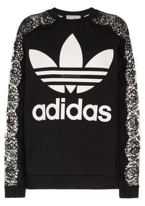 Stella McCartney STELLA TOP ADIDAS LACE SLV - Black