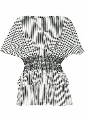 Romance Was Born ruched detail top - White