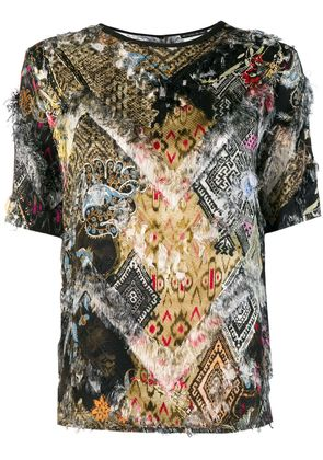 Etro printed blouse - Nude & Neutrals