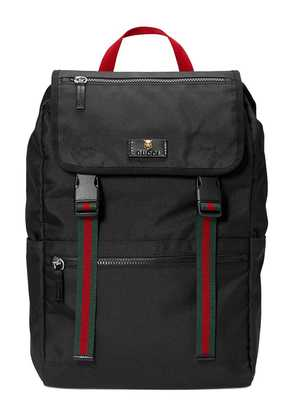 Gucci Technical canvas backpack - Black
