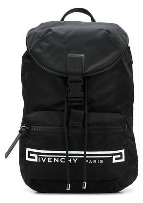 Givenchy Retro Logo Flames backpack - Black