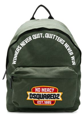 Dsquared2 no mercy backpack - Green