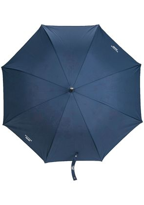 Moschino Boutique print umbrella - Blue