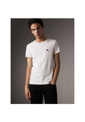 Burberry Cotton Jersey T-shirt, White