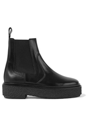 Isabel Marant - Celton Leather Chelsea Boots - Black