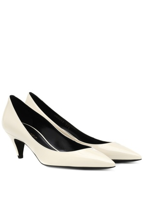 Charlotte 55 leather pumps