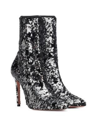 Costes 105 sequined ankle boots