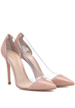 Macy 105 plexi and leather pumps