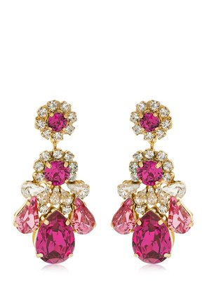 DS FUCHSIA EARRINGS