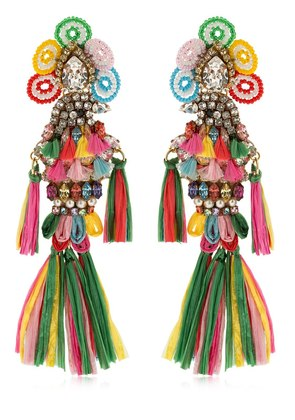 PARROTS MULTI CLIP-ON EARRINGS