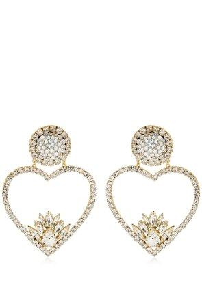 RENATA CRYSTAL CLIP-ON EARRINGS