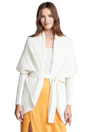TSE Cashmere Concentric Circle Cardigan