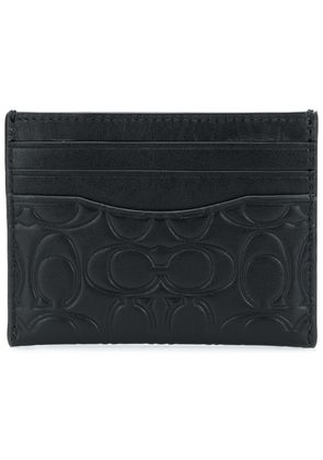 Coach signature cardholder - Black