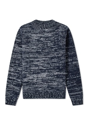 A.P.C. Marco Chunky Crew Knit Blue