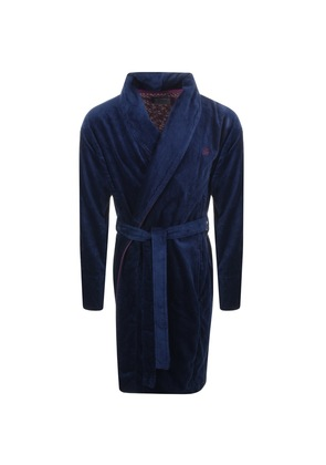 a401a64c6507a2 Ted Baker Dawlish Wrap Around Dressing Gown Navy. Ted Baker