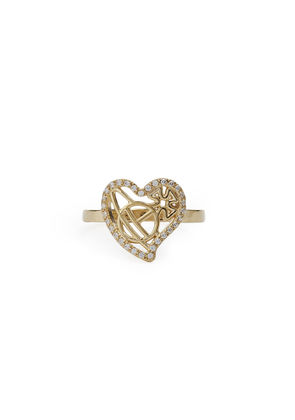 Sterling Silver Giuseppa Small Ring Golden Tone