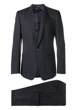 Dolce & Gabbana slim single breasted suit - Blue