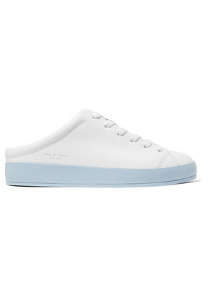 rag & bone - Leather Slip-on Sneakers - White
