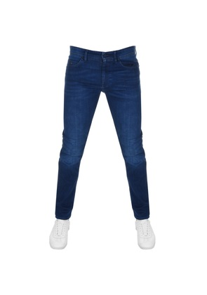 BOSS Green Delaware Slim Fit Jeans Blue