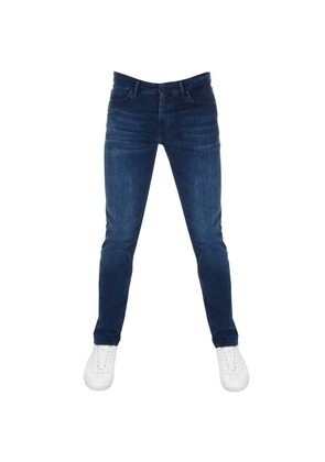 BOSS Green Maine Regular Fit Jeans Blue