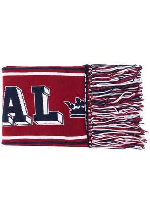 Dolce & Gabbana Gabbana football scarf - Red