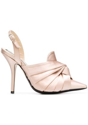 No21 knot detail mules - Nude & Neutrals