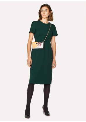 Women's Dark Green Wool-Twill 'A Dress To Travel In'