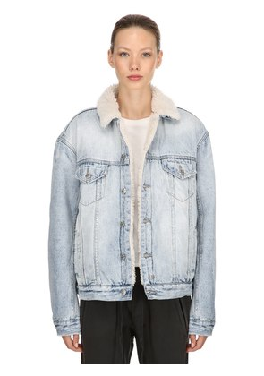 OH G JACKET BORG DENIM JACKET