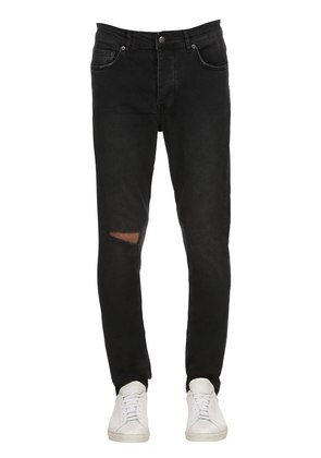 CHITCH FUTURE ASH COTTON DENIM JEANS