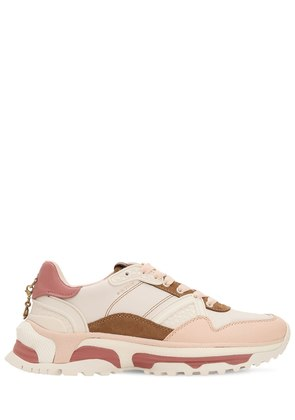 30MM C143 LEATHER & SUEDE SNEAKERS
