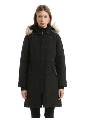 KENSINGTON DOWN PARKA W/ FUR TRIM