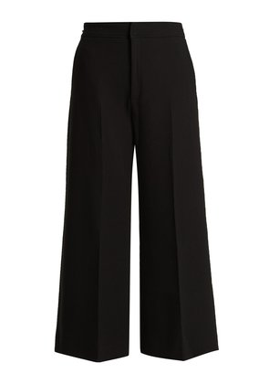 Costello high-rise wool culottes