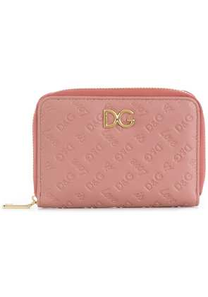 Dolce & Gabbana small zip-around wallet - Pink & Purple