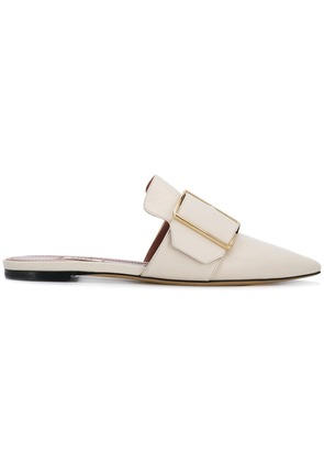 Bally buckled front mules - Nude & Neutrals
