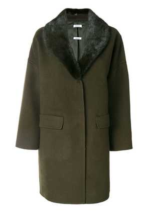 P.A.R.O.S.H. cocoon coat - Green