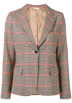 P.A.R.O.S.H. tweed suit jacket - Nude & Neutrals