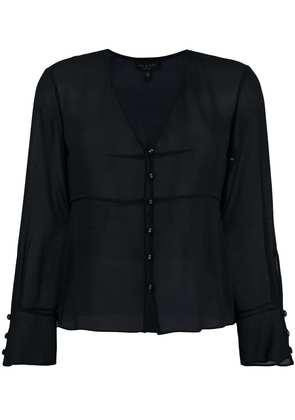 Rag & Bone button front blouse - Black