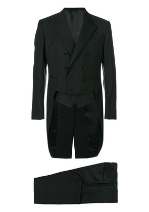 Dolce & Gabbana double breasted suit - Black