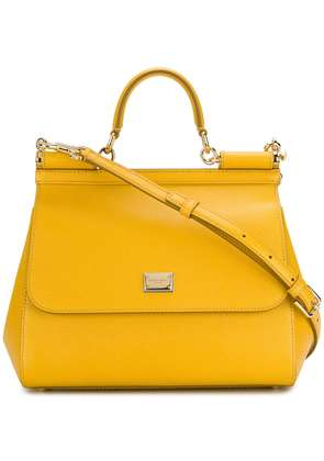 Dolce & Gabbana Sicily tote - Yellow & Orange