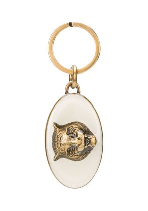 Gucci tiger keyring - Metallic