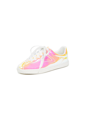 Tretorn Camden Iridescent Lace Up Sneakers