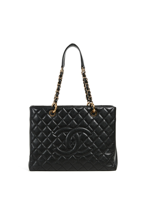 What Goes Around Comes Around Chanel Black Caviar Tote