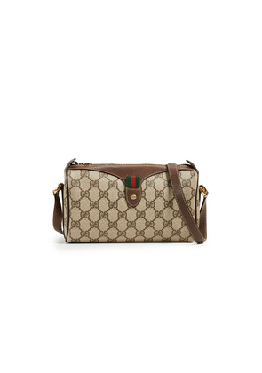 What Goes Around Comes Around Gucci Coated Canvas Shoulder Bag