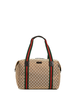 What Goes Around Comes Around Gucci Large Carry on Duffle