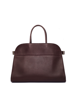 Leather Margaux Tote Bag