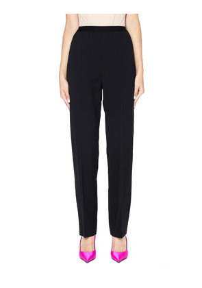 Wide Leg Straight Trousers