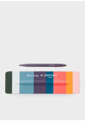 Caran d'Ache + Paul Smith - 849 Damson Ballpoint Pen