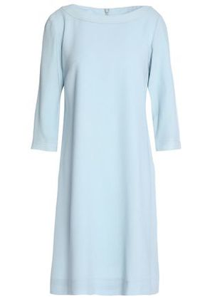 Goat Woman Madeleine Checked Jacquard Dress Azure Size 10